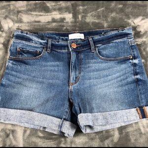 NWT Loft Cuffed Jean Shorts size 2